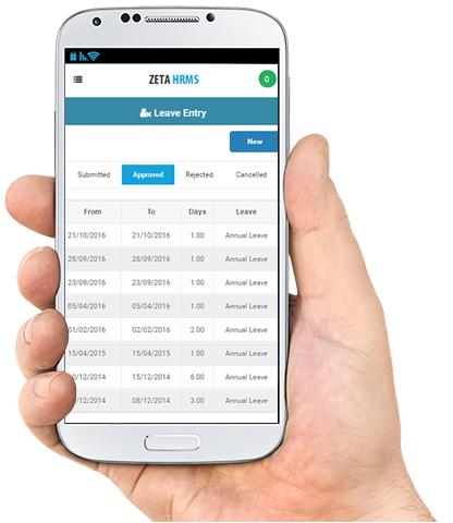 hrms mobile application